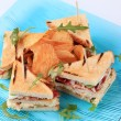 Постер, плакат: Club sandwiches