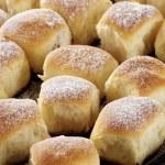 Sweet yeast buns — Stock Photo