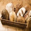 Various types of brown bread — Stock Photo #4643080