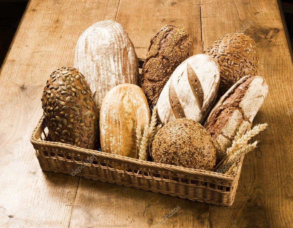 Various Types Of Brown Bread Stock Photo Ajafoto 4643080