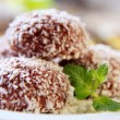 Coconut confections — Stock Photo