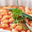 Baked beans - Stock Photo