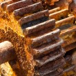 Rusty cogwheels - Stock fotografie