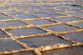 Salt evaporation ponds — Stock Photo
