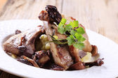 Roast lamb chops — Stock Photo