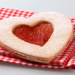 Royalty-Free Stock Photo: Heart shaped  cookie