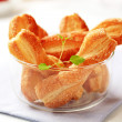 Stock Photo: Puff pastry twists