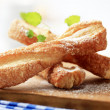 Puff pastry twists — Stock Photo #4949792