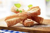 Rebondissements de pâte feuilletée — Photo