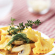 Pasta appetizer - Stock Photo