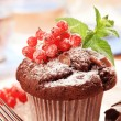 Stock Photo: Chocolate muffin