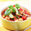 Minestrone soup — Stock Photo #4979344