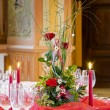 Romantic table setting — Stock Photo #5135361