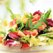 Stock Photo: Chicken and vegetable salad