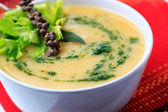 Vegetable cream soup — Stock Photo