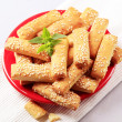 Stock Photo: Crispy snacks