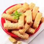 Crispy snacks — Stock Photo #5221422