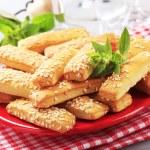 Crispy snacks — Stock Photo #5221426