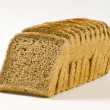 Wholemeal sandwich bread - Stock Photo