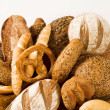 Various types of bread — Stock Photo #5243164