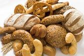 Odrůda tmavý chléb — Stock fotografie