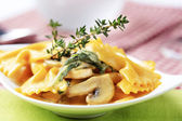 Pasta appetizer — Stock Photo