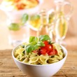 Bowl of pasta salad — Stock Photo #5373887