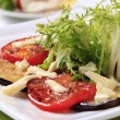 Vegetarian appetizer — Stock Photo