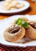 Almond macaroons — Stock Photo
