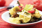 Pasta appetizer — Stock Photo