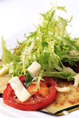 Vegetarian appetizer — Stock Photo