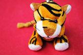 Plyšová hračka tygr. — Stock fotografie
