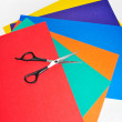 Royalty-Free Stock Photo: Colored paper