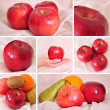 A selection of apples, — Stock Photo
