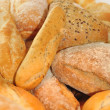Fresh pastries and bread close up — Stock Photo