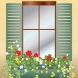 Window box — Stock Vector #4576694