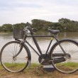Sri lankan bicycle — Stock Photo