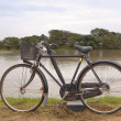 Stock Photo: Sri lankbicycle