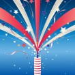 Firework — Stock Vector