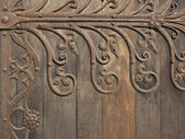 Decorative medieval ironwork 2 — Stock Photo