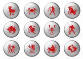 Znaki zodiaku. — Zdjęcie stockowe