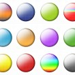 Set Multicolored Buttons — Stock Photo #4005490