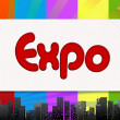 Stock Photo: Expo, illustration
