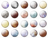 Grunge buttons — Stock Photo
