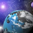 Planet in space — Stock Photo #4177502