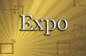 Expo, ilustrace — Stock fotografie