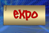 Expo, ilustración — Foto de Stock