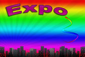 Expo, Abbildung — Stockfoto