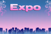 Expo, illustration — Stock Photo