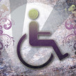 Royalty-Free Stock Photo: Handicap symbol of accessibility